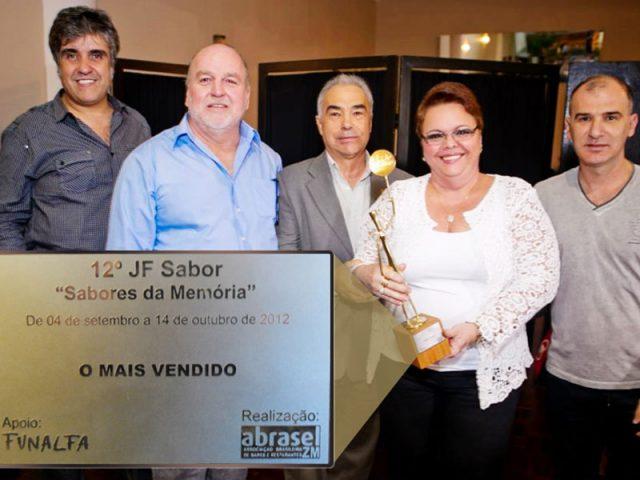 Prêmio 12° JF Sabor: prato mais vendido