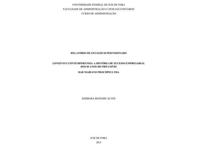 Longevo e Contemporâneo: o Caso de Sucesso Empresarial dos 84 anos do Bar Procopão