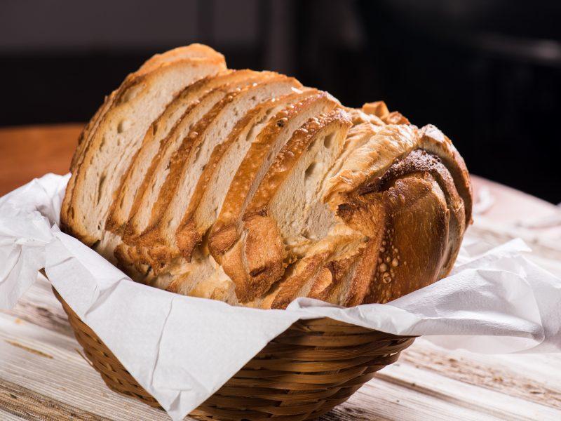 Pão Italiano Quentinho e Fatiado