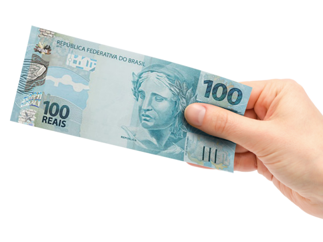 Vale R$100 em consumo